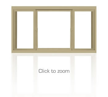 Slider Windows, Sliding glass windows, and 3-lite Windows