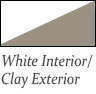 white interior and clay exterior Slider Windows, Sliding glass windows, and 3-lite Windows